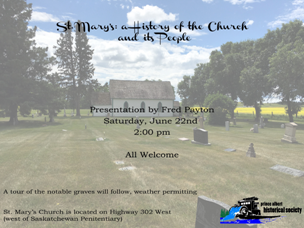St. Mary's June 22nd Presentation